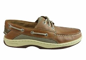 Mens Sperry Billfish Comfortable Wide Fit Leather Boat Shoes - ModeShoesAU