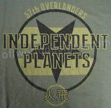 New T-Shirt Independent Planets Serenity Valley Browncoats OffWorld Designs