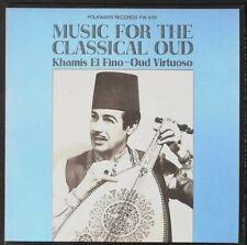 ETHNIC EGYPTIAN 1964 KHAMIS EL FINO, Music for Classical Oud, Folkways FW 8761