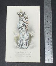 CHROMO 1900-1920 IMAGE PIEUSE CATHOLICISME HOLY CARD NOTRE-DAME DE SION LORRAINE