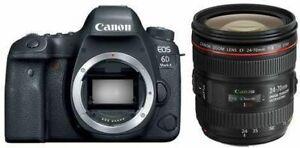 """Canon eos 6d mark II body 26.2mp 3""""  Agsbeagle"""