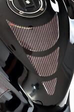 Kohlefaser Faser Optik Tank Schutz Beläge - Passend für Honda Motorräder