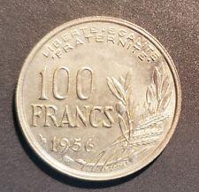 France 100 Francs 1956 Cochet KEY DATE RARE UNC/SPL+