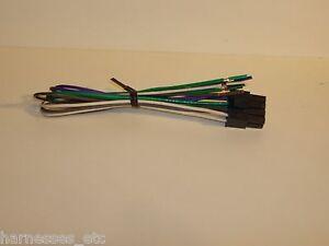 ALPINE 8 Pin High level Amp input Harness MRX V70 M110 F35 F30 M55 M50 M100 M240