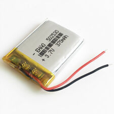 370mAh 3.7V Rechargeable lipo Battery 502530 For MP3 DVD SMART WATCH bluetooth