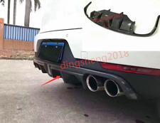 Carbon Fiber Outer Bumper Trim Rear Panel Decoration For Porsche Cayenne 14-17