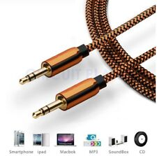 1m - 3.5mm Jack Plug AUX Cable Audio Lead for to Headphone Mp3 iPod PC Car