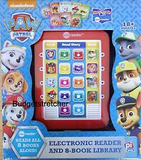 NEW Nickelodeon Paw Patrol Electronic Me Story Reader + 8 Books - 18m+