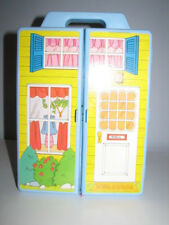1983 Belle Show N Go House From Knickerbocker With Outfits And Belle Doll, Very