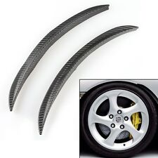 Car Fender Wheel Molding Eyebrow Lips Strip Decor Round Splash Guard Universal