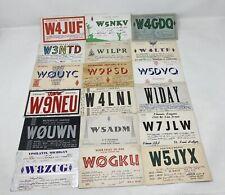 More details for vintage bundle of qsl cards