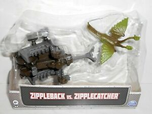 LOOSE Spin Master DreamWorks Dragons Mini Figure ZIPPLEBACK vs. ZIPPLECATCHER 4+