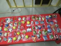 Lot of 65 McDonalds Happy Meal Toys!! New!! Unopened!!