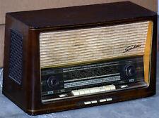 VINTAGE ANTICA TUBE Radio d'epoca valvole SABA MEERSBURG AUTOMATIC 9