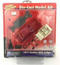 Johnny Lightning Model Kit 1971 71 Pontiac GTO Judge Red Car Die Cast 1/64 Scale