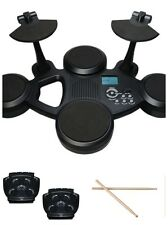 Clifton E-Drum Set - 6 TOUCH SENSITIVE PADS PEDALI + fusi (coscette)