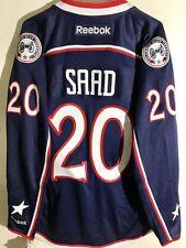 Reebok Premier NHL Jersey Columbus Blue Jackets Brandon Saad Navy sz M