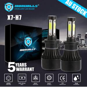 4 Sides H7 LED Headlight Globe Beam Lamp Bulbs For Hyundai i30 GD YF 2012-2016