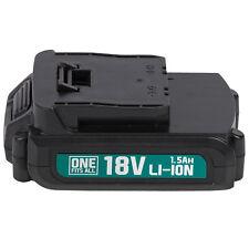 Powerplus Akku 18 V Li-Ion 1,5 Ah Ersatzakku für alle One Fits All Geräte