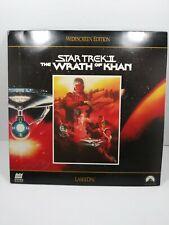 Star Trek Wrath of Khan Laserdisc