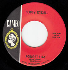 RARE BOBBY RYDELL BONUS 45~FORGET HIM / A MESSAGE FROM BOBBY~CAMEO 1070~NR MINT