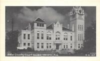 D71/ Ozark Alabama AL Postcard c1940s Dale County Court House