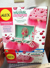 ALEX Toys - Musical Jewelry Box Kit with Dancing Ballerina, new in box!