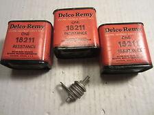 Vintage Delco apparatus box voltage regulator resistors NOS 18211