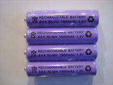 BT  / PHILIPS BABY MONITORS  4x 1.2V 1800 mAh AAA RECHARGEABLE BATTERIES
