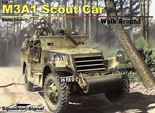 20334/ Squadron Signal - Walk Around 20 - M3A1 Scout Car - TOPP FOLLETO
