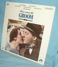 LD laserdisc Frank Capra's HERE COMES THE GROOM  Bing Crosby Jane Wyman