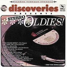DISCOVERIES PRES: STEREO OLDIES -VAR (CD) VOGUES CLANTON BLANE THUNDER ANNETTE