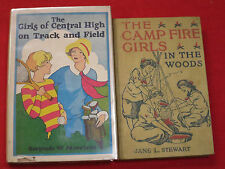 THE GIRLS OF CENTRTAL HIGH - TRACK & FIELD 1914 / CAMP FIRE GIRLS - IN THE WOODS