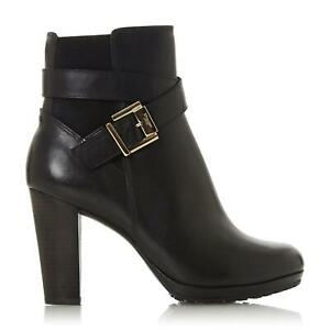 Dune Ladies ORRION  Buckle Block Heel Boots