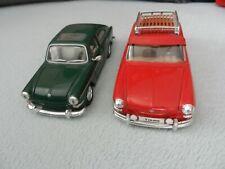 2 x Modelle,VW 1600,1:24,Maisto,Jada,selten