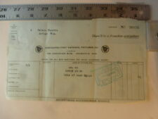 Movie Billhead Associated 1st Nat Pic 6/2/1923 Isle Of Lost Ships Anna Nillson