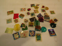 VINTAGE LOT OF 1980s  CRACKER JACK Toys  Prizes, Magifiers,Ball Games Free Ship