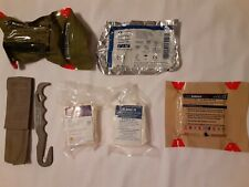 PREPPER LOT OF MILITARY MEDICAL SUPPLIES STRAP CUTTER CHITO GAUZE H&H CAG SEAL S