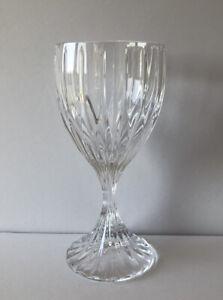 """MIKASA CRYSTAL PARK LANE 6 1/4"""" SINGLE WINE GLASSES"""