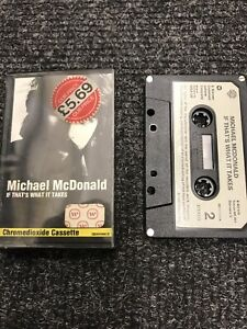 Michael Mcdonald If Thats What It Takes Casssette Tape