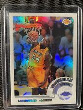 New listing 2002-03 Topps Chrome Shaquille O'neal White Refractor /249 Lakers SP