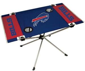 Buffalo Bills Endzone Tailgate Table [NEW] NFL Portable Chair Fold Party