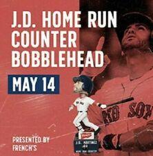 JD Martinez HR Counter Bobblehead Boston Red Sox SGA MIB  05/14/2019 RARE