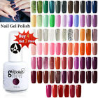 Anlabayle Color Nail Gel Soak Off Matte Top Base Coat UV LED Nail Varnish Polish