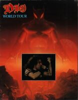 DIO 1984 THE LAST IN LINE WORLD TOUR CONCERT PROGRAM BOOK / BOOKLET / EX 2 NMT