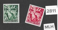 Very nice Complete MLH stamp set / Assumption of power anniv. 1938 Third Reich
