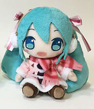 Vocaloid 8'' Snow Miku w/ Earmuffs Plush Doll Anime Manga MINT