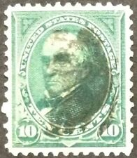 1895 10c Webster regular issue, Scott #273, Used, VF
