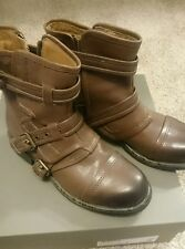 SIZE 7 UGG Collection Elisabeta Women's Boots 1004632 7 Brown Ash NEW NIB