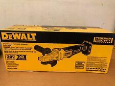 "DeWalt DCG413FB 5"" 20V  Brushless Flathead Paddle Switch Small Angle Grinder NEW"